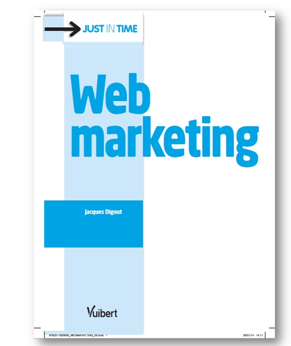 Livre Editions Vuibert = e-Marketing Web-marketing, Marketing Digital